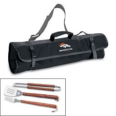 Picnic Time Denver Broncos 4 pc Barbecue Tote Set
