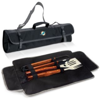 Picnic Time Miami Dolphins 4-pc. Barbecue Tote Set