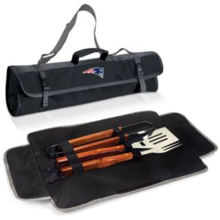 Picnic Time New England Patriots 4-pc. Barbecue Tote Set