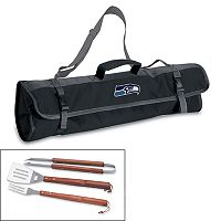 Picnic Time Seattle Seahawks 4 pc Barbecue Set