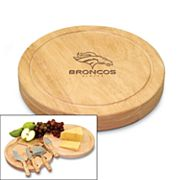 Picnic Time Denver Broncos Circo 5-pc. Cheese Board Set
