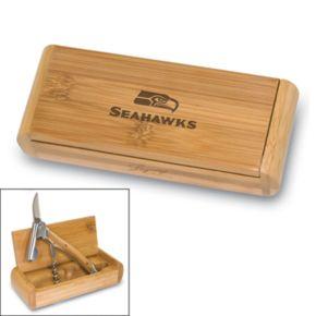 Picnic Time Seattle Seahawks Elan Corkscrew Set