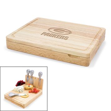 Picnic Time Green Bay Packers Asiago 5-pc. Cheese Board Set