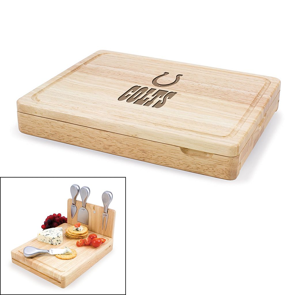 Picnic Time Indianapolis Colts Asiago 5-pc. Cheese Board Set