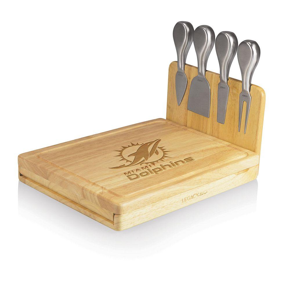 Picnic Time Miami Dolphins Asiago 5-pc. Cheese Board Set