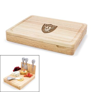 Picnic Time Oakland Raiders Asiago 5-pc. Cheese Board Set
