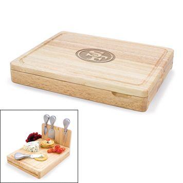 Picnic Time San Francisco 49ers Asiago 5-pc. Cheese Board Set