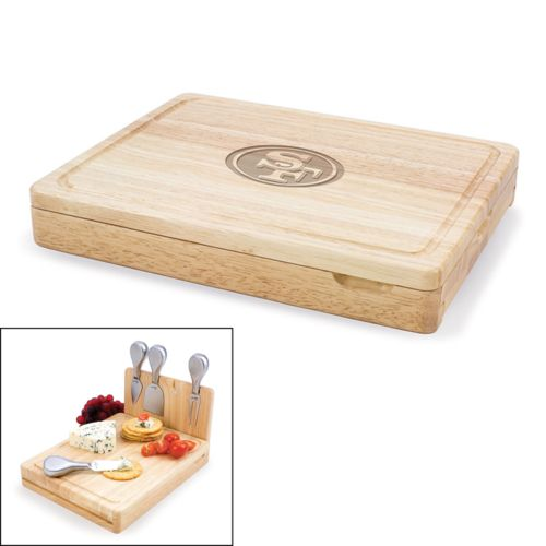 Picnic Time San Francisco 49ers Asiago 5-pc. Cheese Board Set