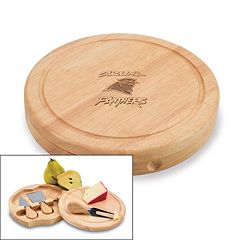 Picnic Time Carolina Panthers Brie Cheese Board Set