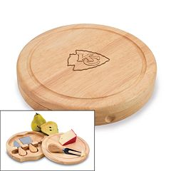 Picnic Time Kansas City Chiefs Brie Cheese Board Set