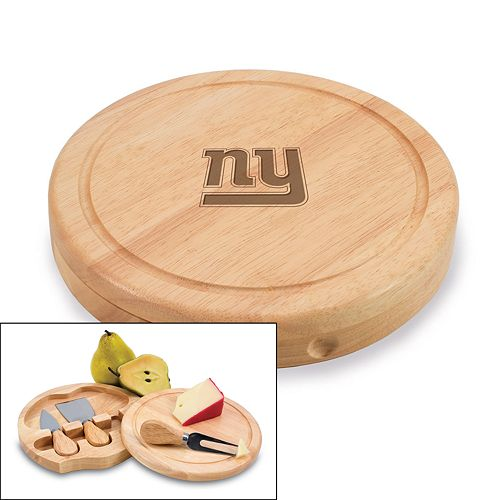 Picnic Time New York Giants Brie Cheese Board Set