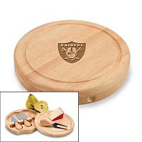 Picnic Time Oakland Raiders Brie Cheese Board Set
