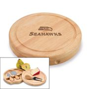 Picnic Time Seattle Seahawks Brie Cheese Board Set