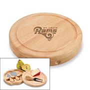 Picnic Time St. Louis Rams Brie Cheese Board Set