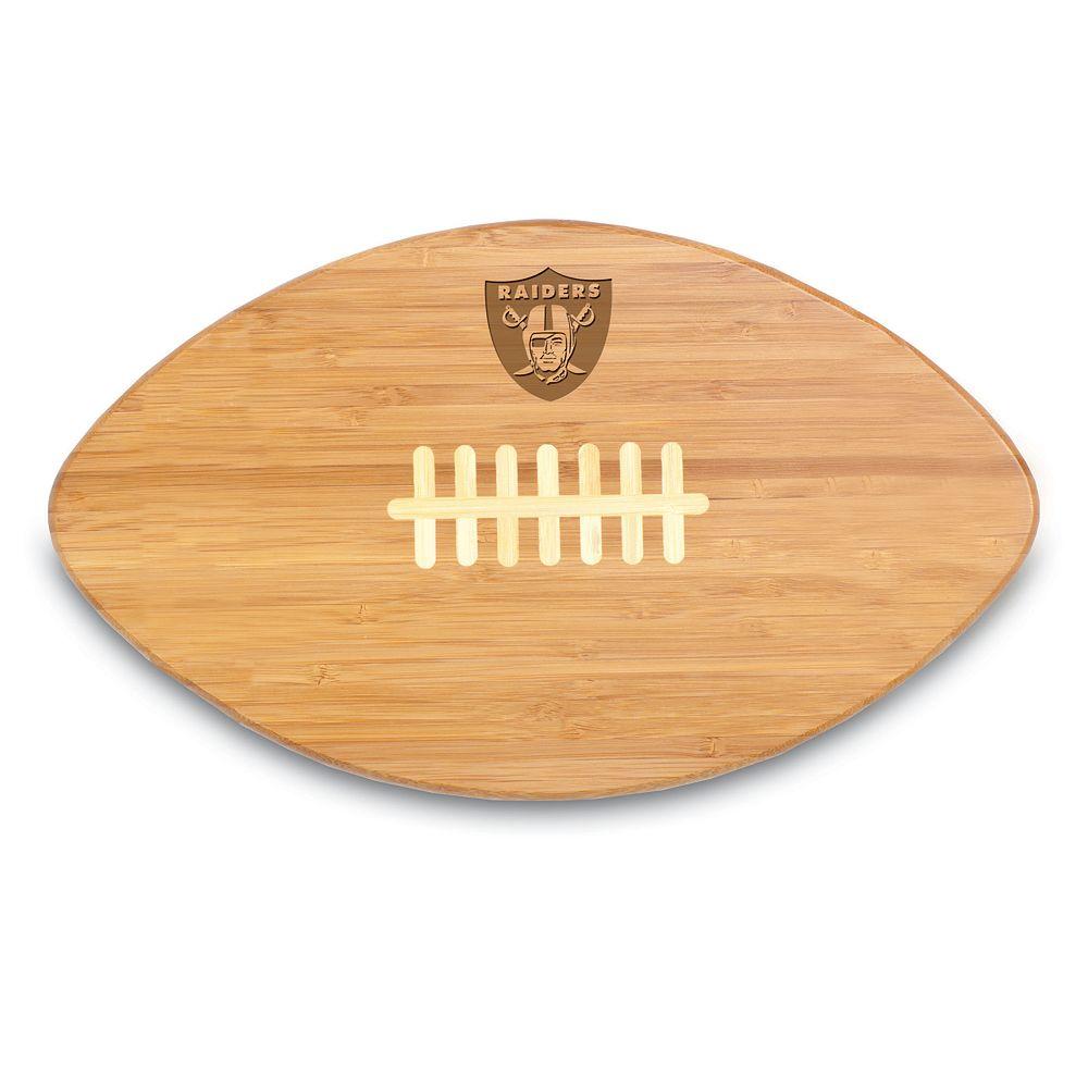 Picnic Time Oakland Raiders Touchdown Pro! Cutting Board