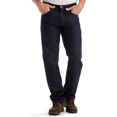 Lee Regular-Fit Stretch Straight-Leg Jeans - Big and Tall
