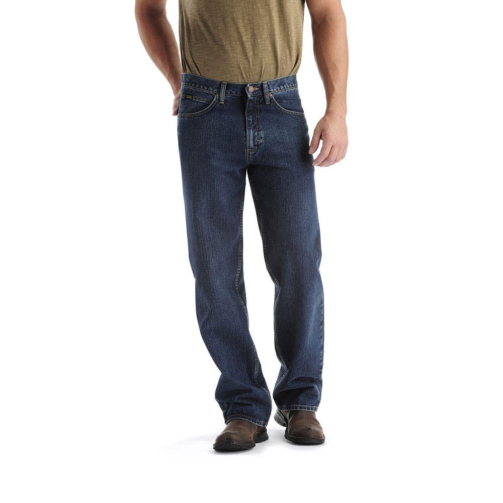 Big & Tall Lee® Loose-Fit Comfort Waist Straight-Leg Jeans