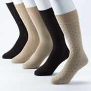 Dockers 5-pk. Argyle Performance Dress Socks