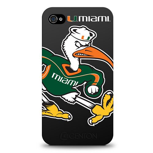 Miami Hurricanes Iphone 4 Case