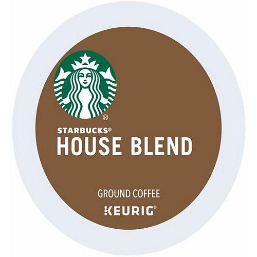 Keurig® K-Cup® Pod Starbucks House Blend Medium Roast Coffee - 16-pk.