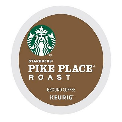 Keurig K-Cup Portion Pack Starbucks Pike Place Roast Coffee - 16-pk.