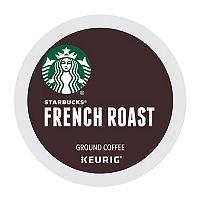 2-Pack Keurig K-Cup Pod Starbucks French Roast Coffee 16-ct Deals