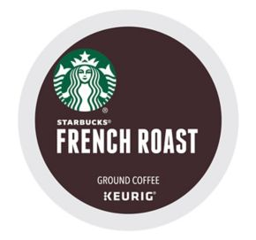 Keurig® K-Cup® Pod Starbucks French Roast Coffee - 16-pk.