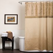 Lush Decor Serengeti Fabric Shower Curtain