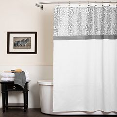Lush Decor Serengeti Fabric Shower Curtain