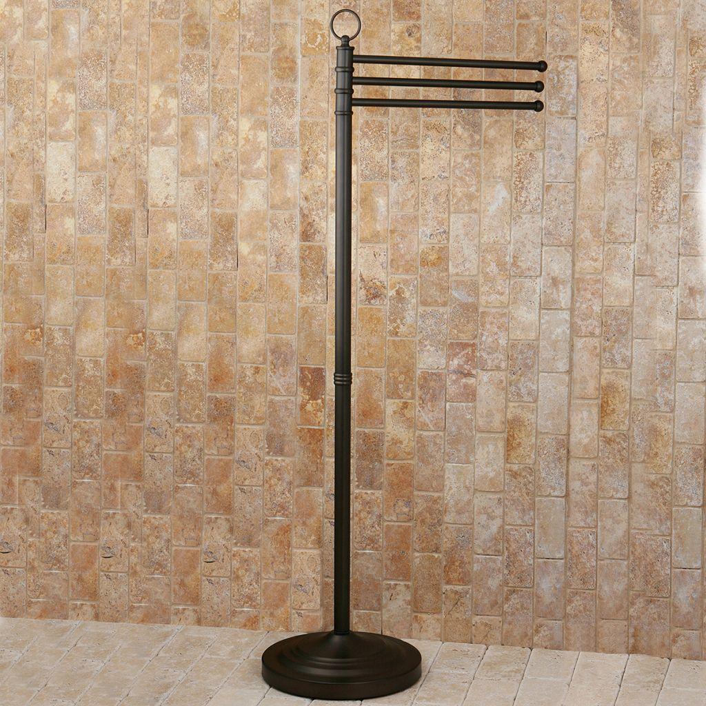 Kingston Brass Pedestal Towel Stand