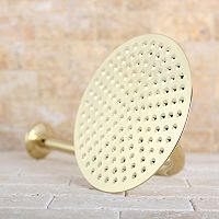 Kingston Brass Rainfall Showerhead With Shower Arm