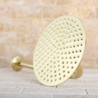 Kingston Brass Rainfall Showerhead With Shower Arm