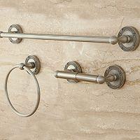 Kingston Brass Georgian 3-pc. Towel Bar Set