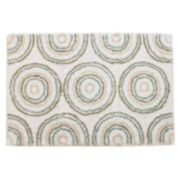 "Ultra Spa Circles Bath Rug - 20"" x 30"""