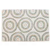 Ultra Spa Circles Bath Rug - 24 x 40