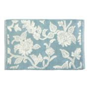 Ultra Spa Floral Swirl Bath Rug - 24 x 40
