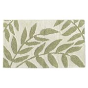 Ultra Spa Leaf Bath Rug - 20 x 30