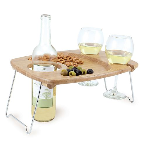 Picnic Time Mesavino Wine Serving Tray