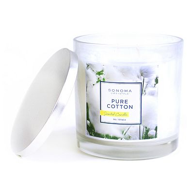SONOMA life + style Pure Cotton 14-oz. Jar Candle