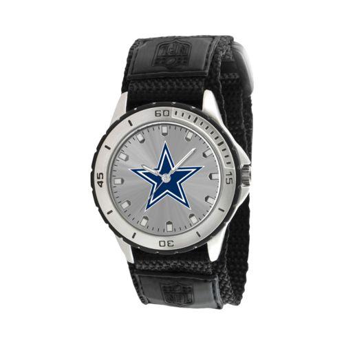 Game Time Veteran Series Dallas Cowboys Silver Tone Watch - NFL-VET-DAL