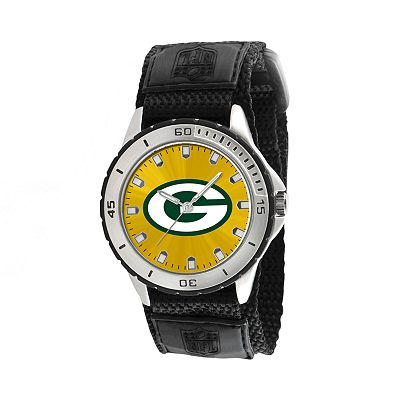 Game Time Veteran Series Green Bay Packers Silver Tone Watch - NFL-VET-GB