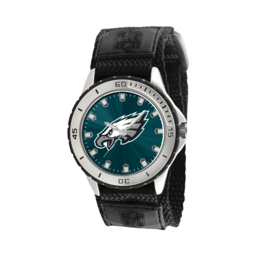 Game Time Veteran Series Philadelphia Eagles Silver Tone Watch - NFL-VET-PHI