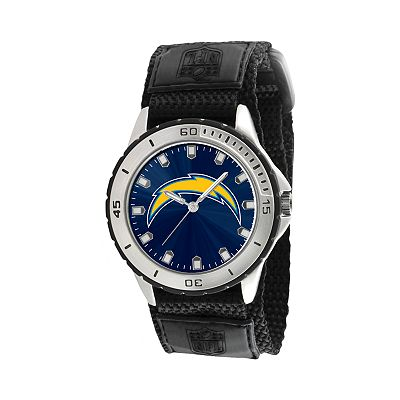 Game Time Veteran Series San Diego Chargers Silver Tone Watch - NFL-VET-SD