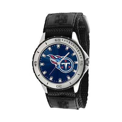 Game Time Veteran Series Tennessee Titans Silver Tone Watch - NFL-VET-TEN