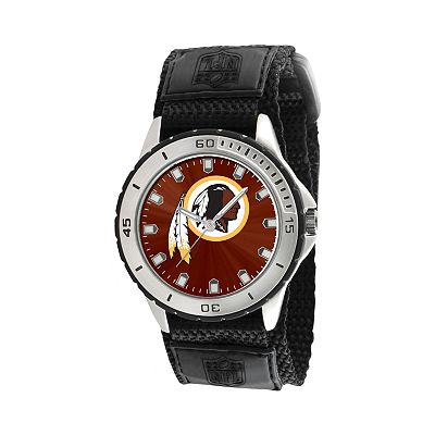 Game Time Veteran Series Washington Redskins Silver Tone Watch - NFL-VET-WAS
