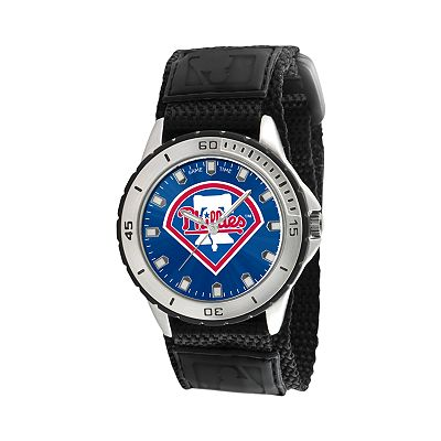 Game Time Veteran Series Philadelphia Phillies Silver Tone Watch - MLB-VET-PHI