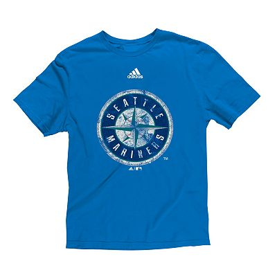 adidas Seattle Mariners Cooperstown Tee - Boys' 8-20