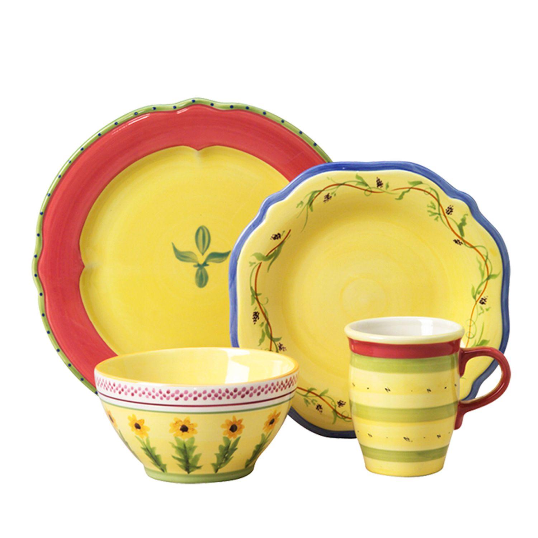 Pfaltzgraff Pistoulet 16-pc. Dinnerware Set  sc 1 st  Kohl\u0027s & Pfaltzgraff Dinnerware Sets - Dinnerware \u0026 Serveware Kitchen ...