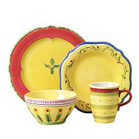 Pfaltzgraff Pistoulet 16 pc Dinnerware Set