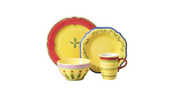 Kohl S Wedding Registry: Pfaltzgraff Pistoulet 16-pc. Dinnerware Set